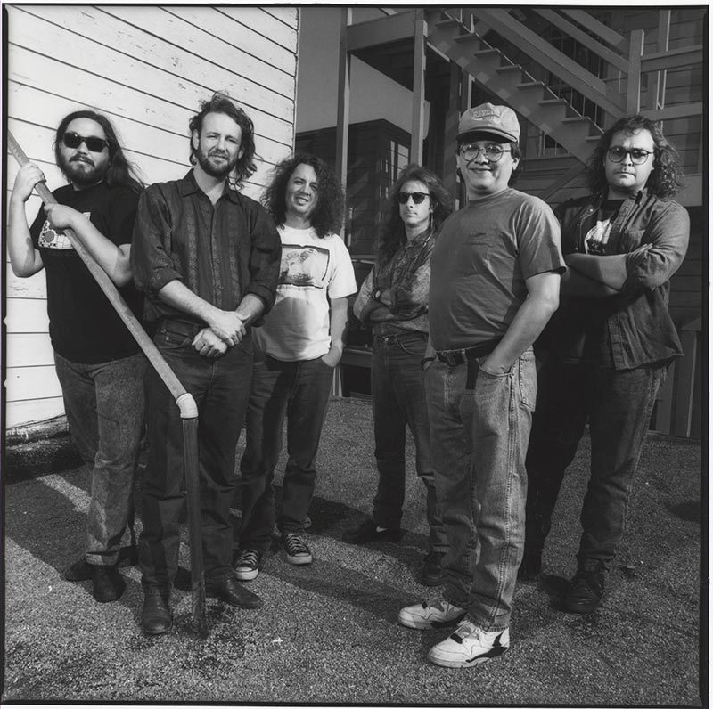 Widespread Panic - 1991 Photo by Jay Blakesburg