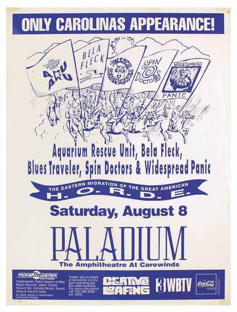HORDE / Palladium Amphitheater At Carowinds 1992