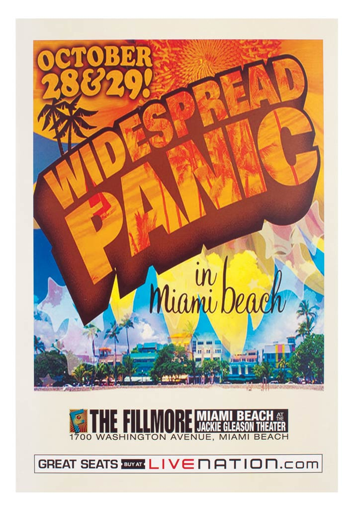 The Fillmore at Jackie Gleason Theatre 2008