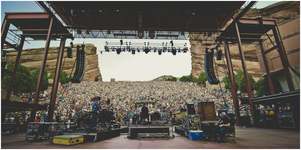 June 26, 2016 - Red Rocks, Morrison, CO