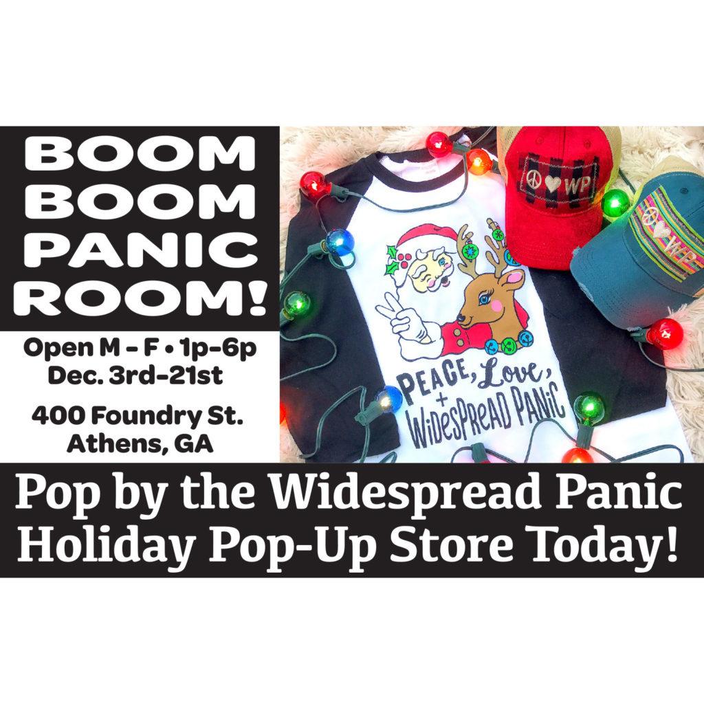 Panic Pop-Up Shop 2018