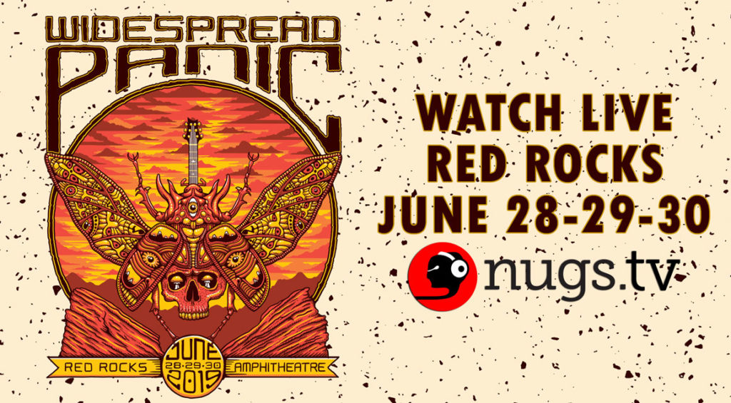Widespread Panic Red Rocks Webcast