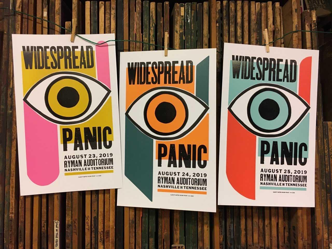 Nashville 2019 Show Poster by Hatch Show Print