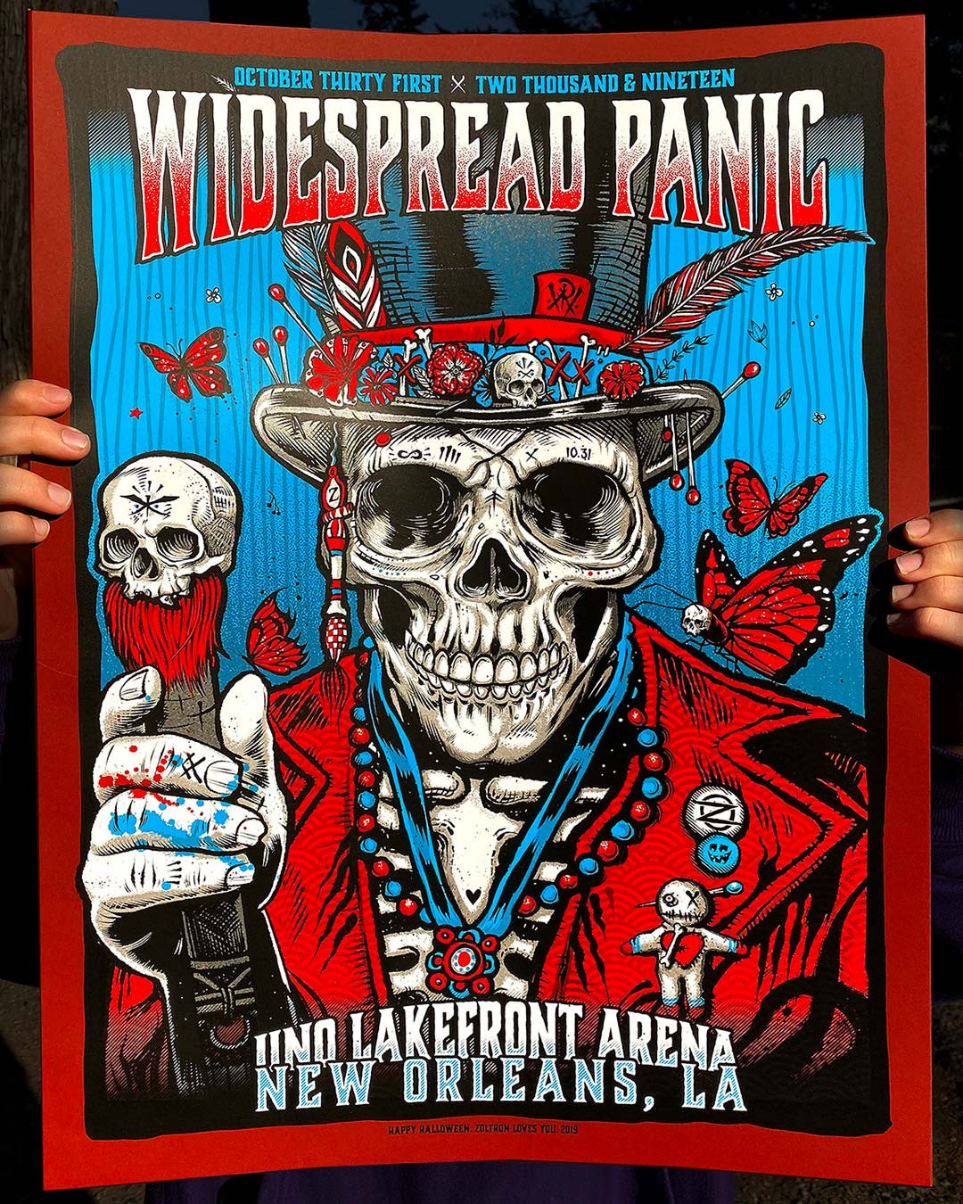 Widespread Panic Poster Halloween 2020 New Orleans 2019 | Widespread Panic