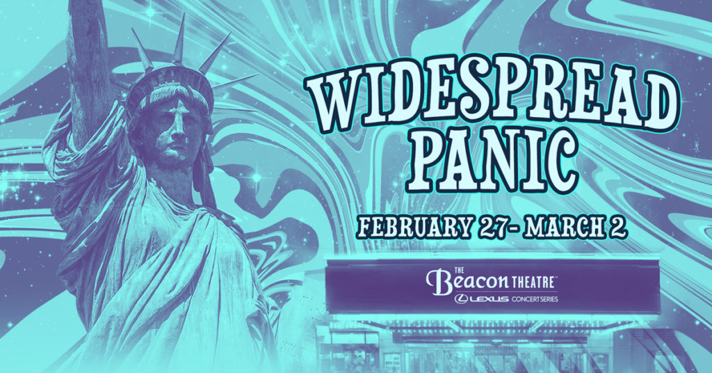Widespread Panic Live at The Beacon Theatre in New York City 2020