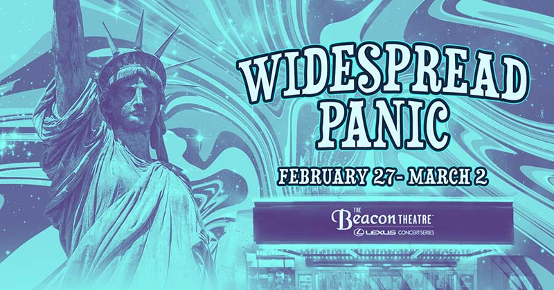 Widespread Panic NYC Beacon Theatre 2020