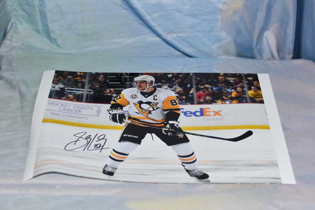 PIttsburgh Penguins #87 Sidney Crosby signed photo print