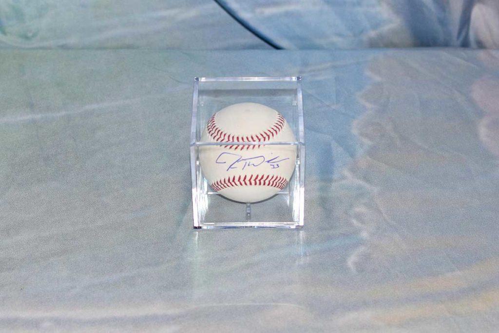 Cincinnati Reds Jesse Winker signed baseball