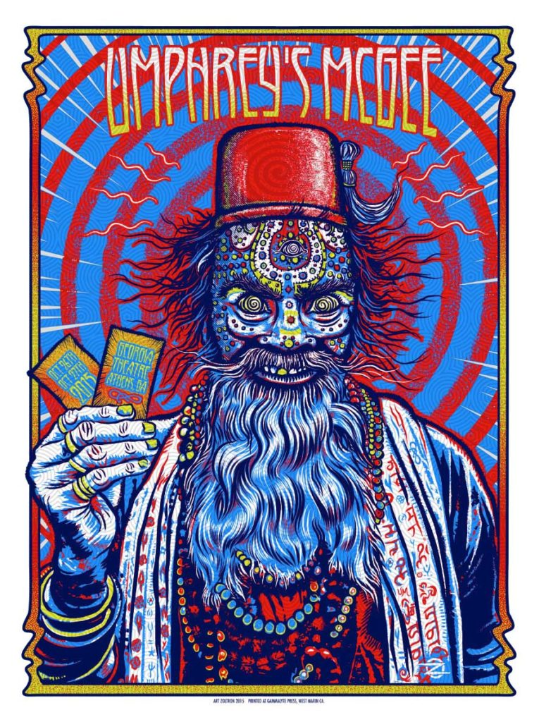 Umphrey's McGee Live at The Georgia Theatre Show Poster (unsigned)