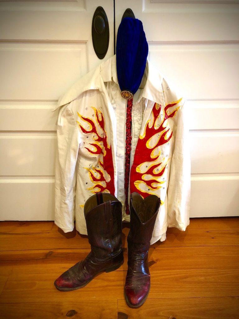 JB's 2019 Halloween Show Costume, inspired by Andy Kaufman