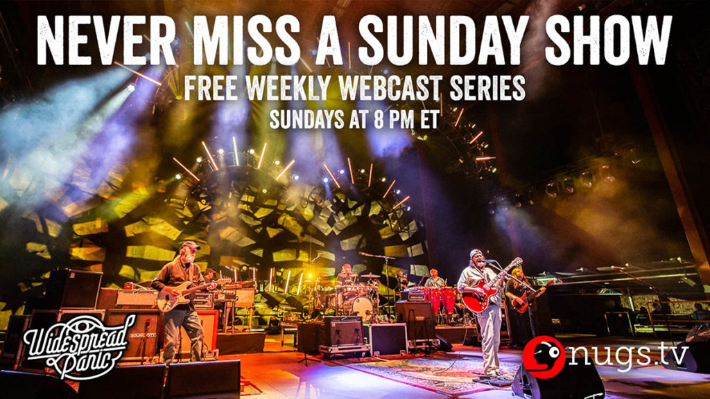 Widespread Panic Never Miss A Sunday Show Free Webcasts