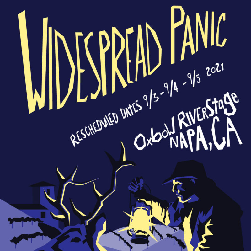 Widespread Panic Live in Napa Labor Day Weekend 2021