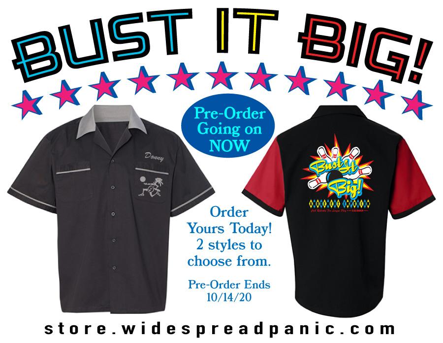 Bust It Big Bowling Shirts Ad