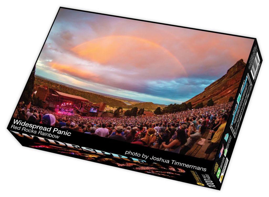Widespread Panic Red Rocks Rainbow Puzzle