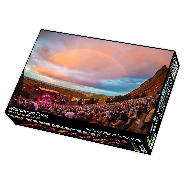 Red Rocks Rainbow Puzzle