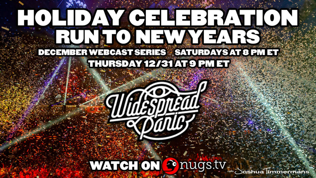 Widespread Panic's Run to New Years: December Webcast Series