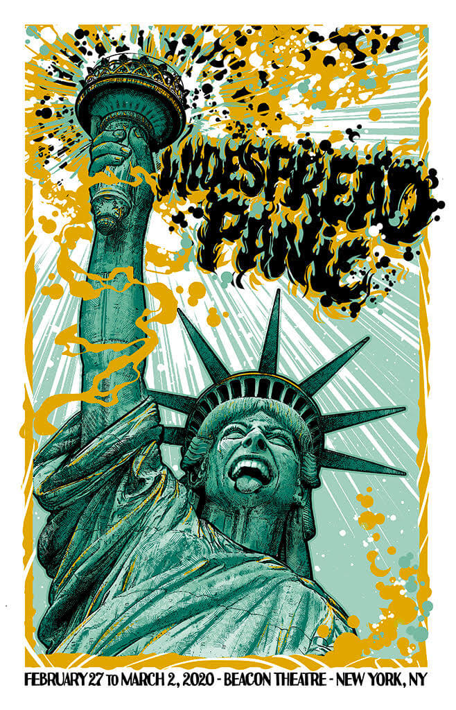 Widespread Panic New York 2020 Beacon Theatre by JT Lucchesi