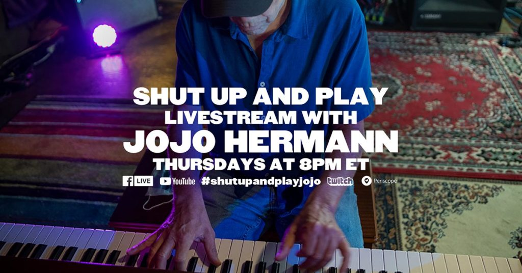 Jojo Shut Up and Play Live Streams 2021
