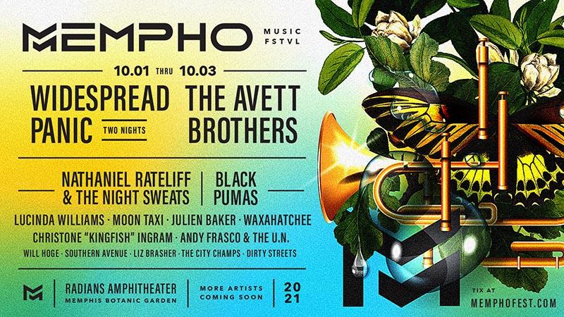 Widespread Panic Mempho Festival October 2021