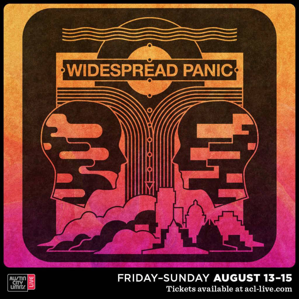 Widespread Panic Live in Austin Texas August 2021