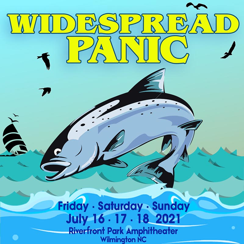 Widespread Panic Wilmington NC 2021