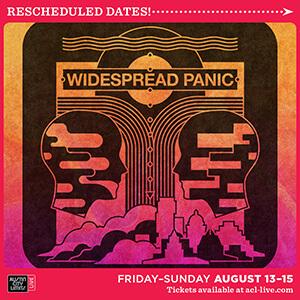 Widespread Panic Austin TX 2021