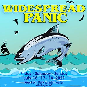 Widespread Panic Wilmington NC July 2021