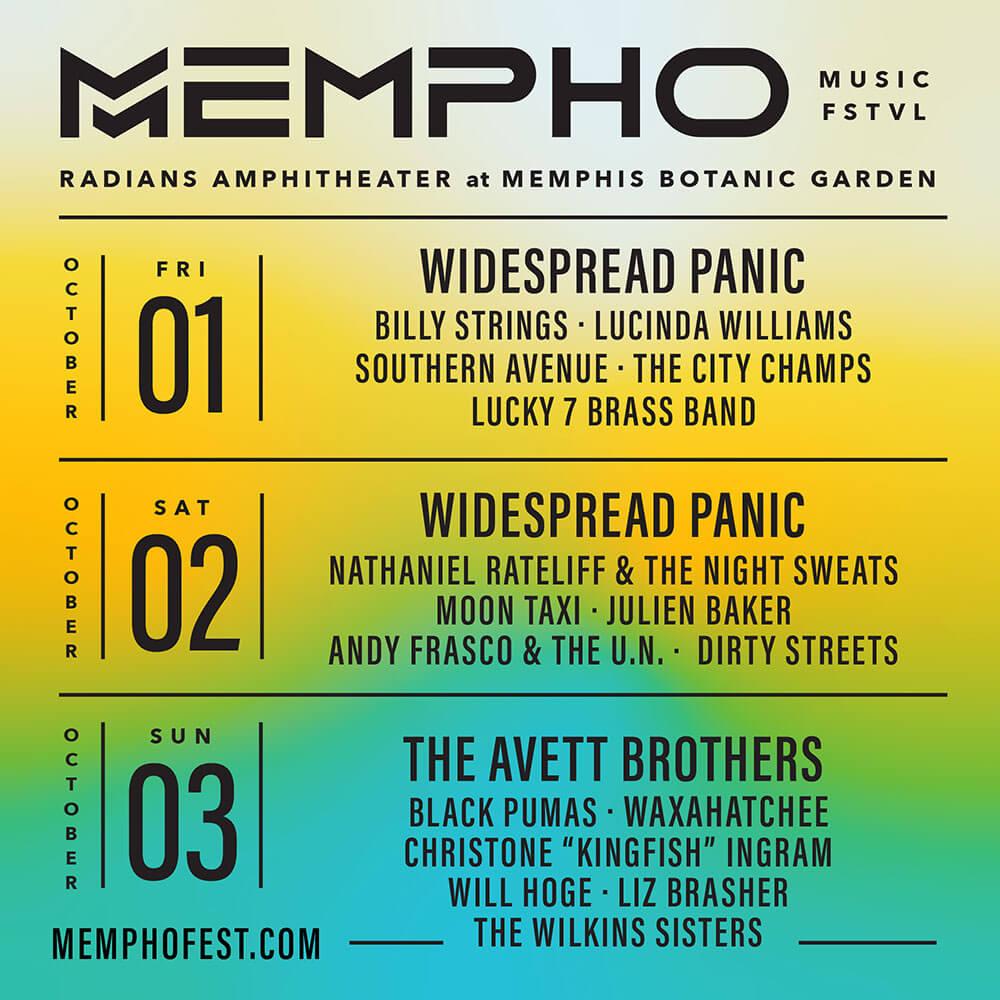 Widespread Panic at Mempho Festival 2021