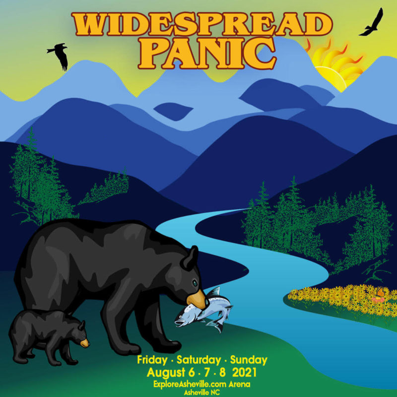 Widespread Panic Live in Asheville NC August 2021