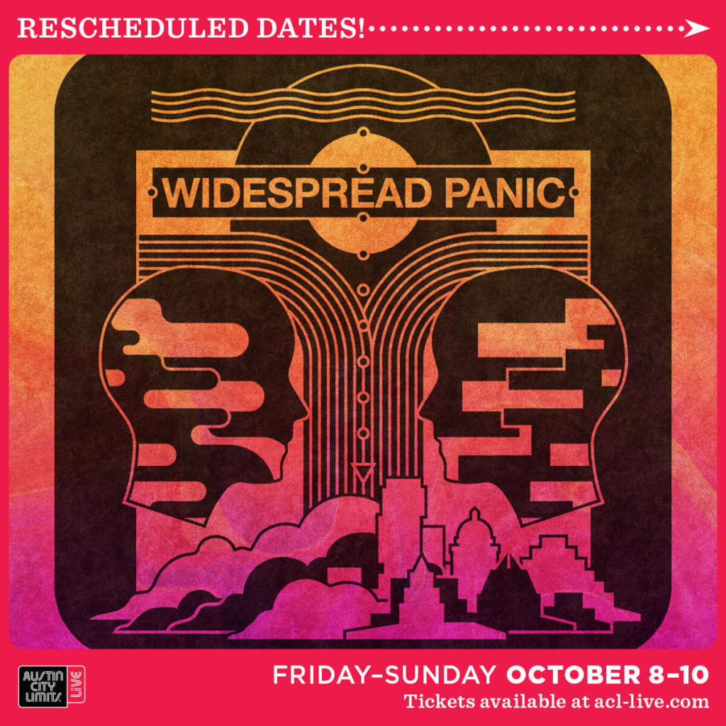 Widespread Panic Live in Austin October 8-10, 2021