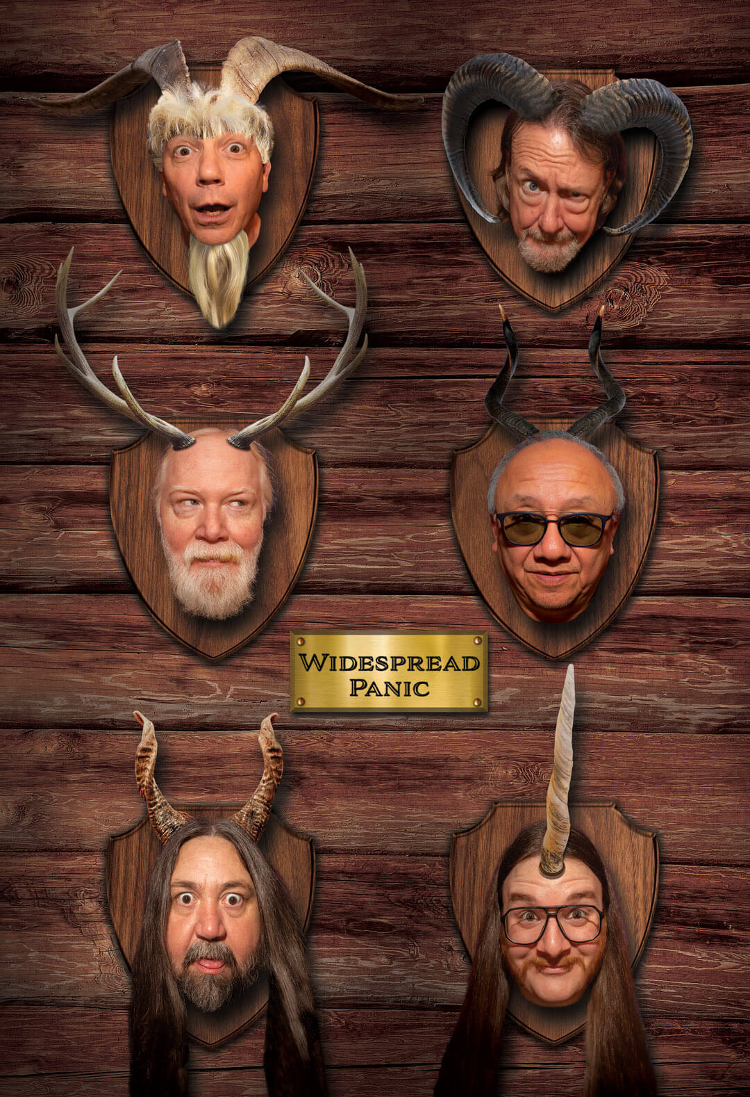Widespread Panic Trophy Room Poster - 2021